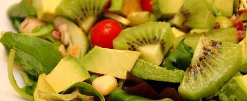 Ensalada con Kiwi