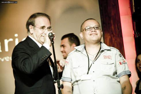 Angel Lafuente - Jacob a.k.a. Xelso - Moise Gonzalez en el TEDxCanarias