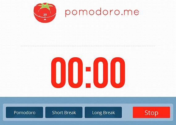 pomodoro.me Web