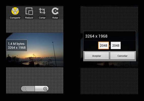 Comparativa App