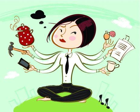 Consejos para la multitarea y la mejorar la energia.