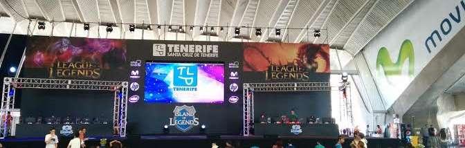 Escenario del LOL en TLP TEnerife 2014